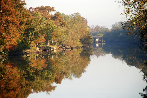 morning house reflection fall water reflections river louisiana vermilion abbeville