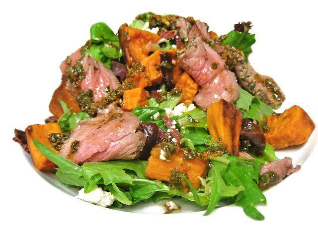 Lamb & Roasted Sweet Potato Salad W/Feta & Herbs | Flickr - Photo ...