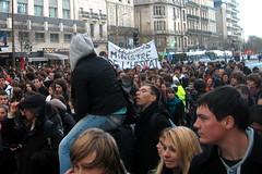 Lycéens en grève / High schoolers on strike