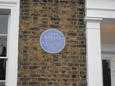 Photo of Lilian Baylis blue plaque