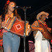 Rosie Ledet at the 2003 and 2005 Breaux Bridge Crawfish Festivals