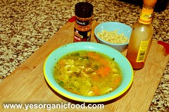 Chicken Vegetable Soup 1