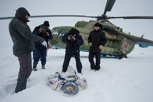Expedition 38 Soyuz TMA-10M Landing (201403110011HQ)