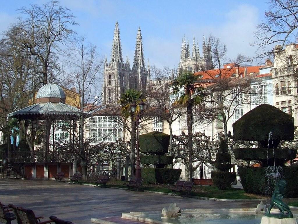 """Paseo del Espolón """"Burgos"""""""