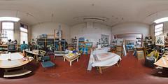 Theo Kemp's atelier