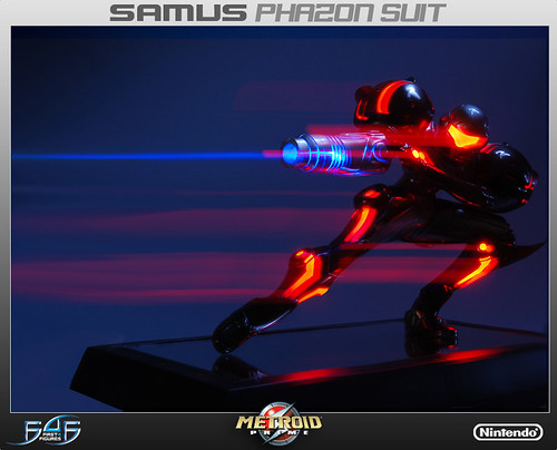 Limited Edition Samus Aran Phazon Suit Statue