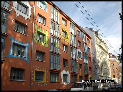 façade à Leipzig
