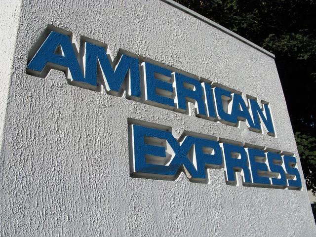 アメリカンエキスプレスの表札