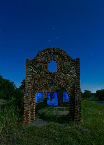 abandoned station rose night texas glen filling outlaw speakeasy moonshine