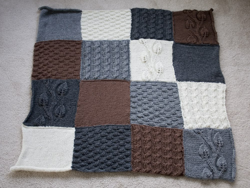 Knitted Afghan Square Patterns : Flickriver: Most interesting photos from Knitted Afghan Squares pool
