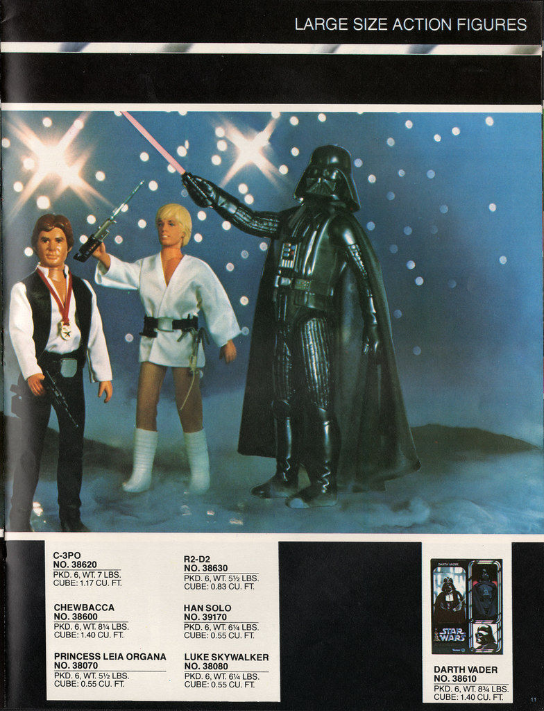 Kenner Star Wars product Supplement 1979 - page 12