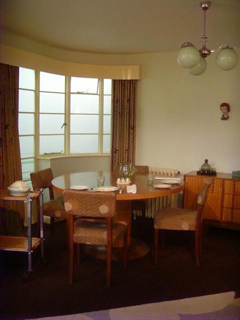 1930s Living Room London Art Deco Interior Flickr Photo Sharing