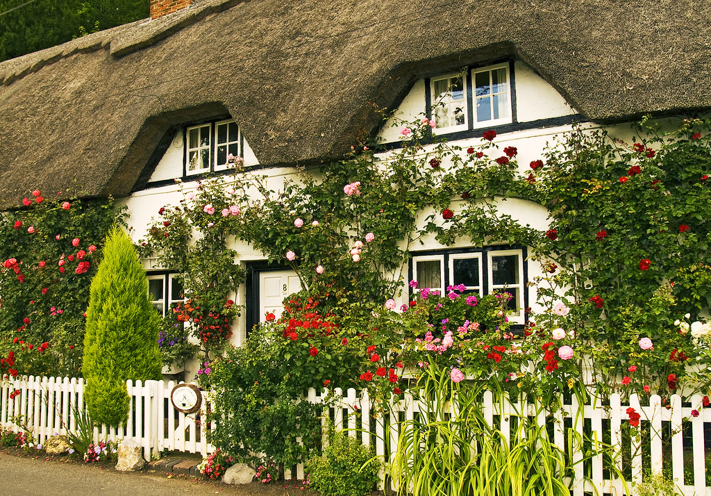 Cottages anglais my gardening tales for Interieur anglais cottage