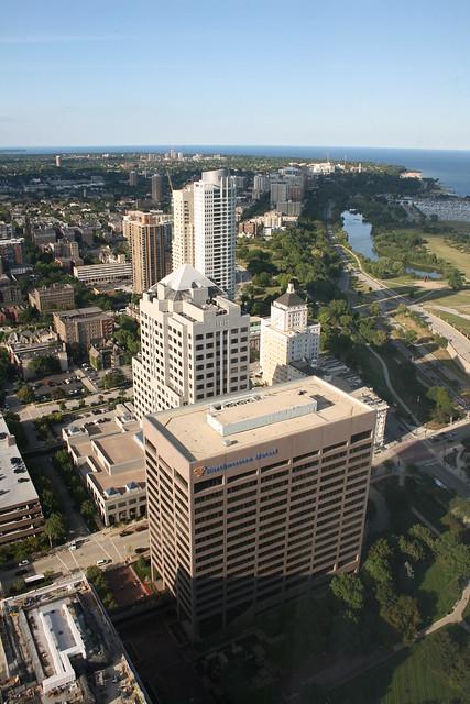 Downtown Milwaukee's Lakeside Buildings
