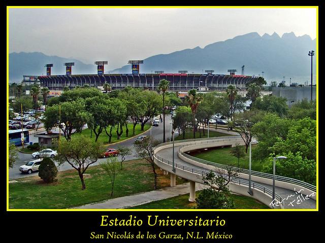 El Estadio Universitario (Tigres UANL)