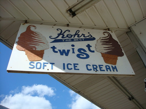 Kohr's soft ice cream, Seaside