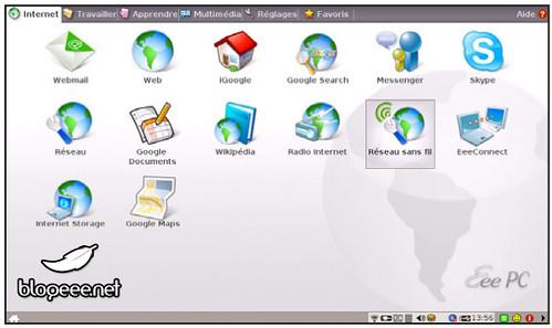 EeePC S101 en Linux Francais