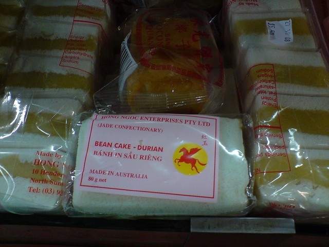 Durian Cake Box Hill