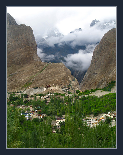 First Glance of Karimabad, Hunza by IshtiaQ Ahmed revival to Photography