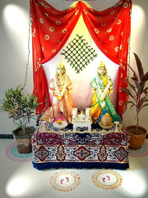 gauri decoration