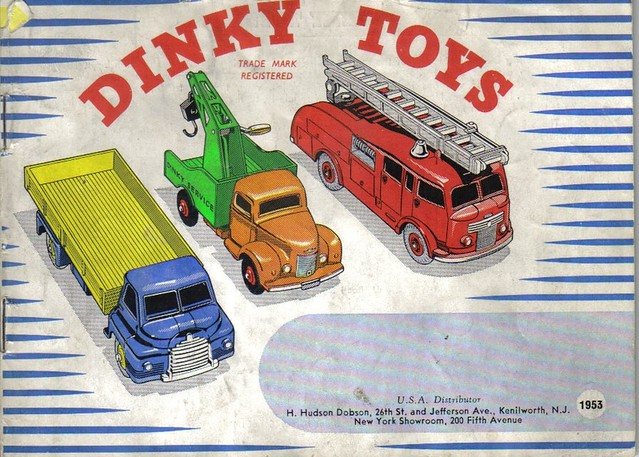 Toys From 1953 : Dinky toys catalogue a photo on flickriver