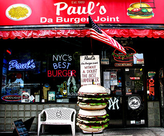 Paul's Da Burger Joint nyc