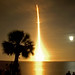 Space shuttle Endeavor long exposure by Slingher