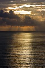 Dramatic sunbeams