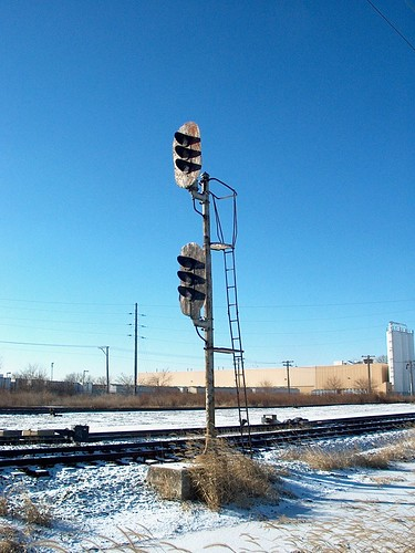 Chicago winter railroading. January 2007. by Eddie from Chicago