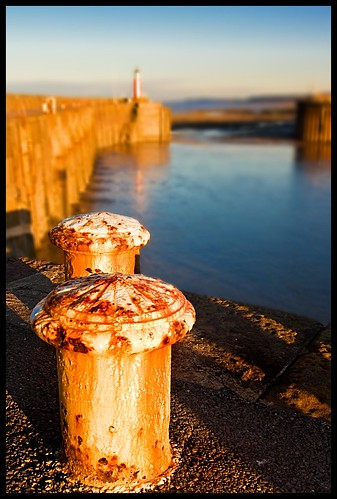 sunset harbour somerset watchet