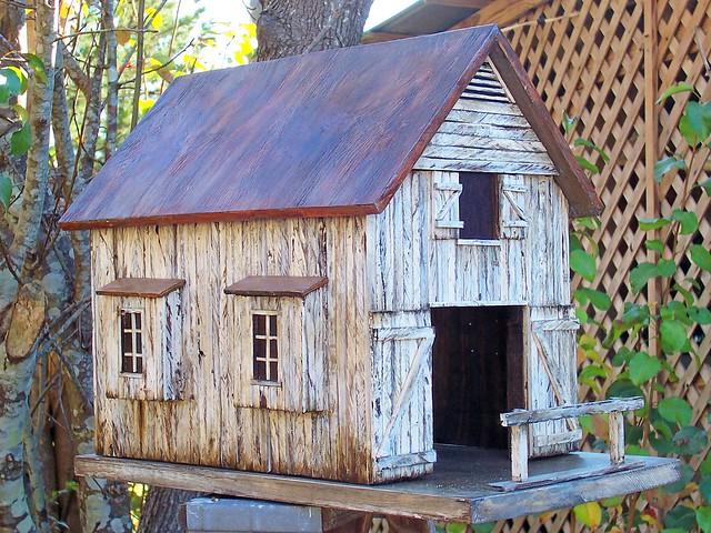 Old Barn Birdhouse Flickr Photo Sharing