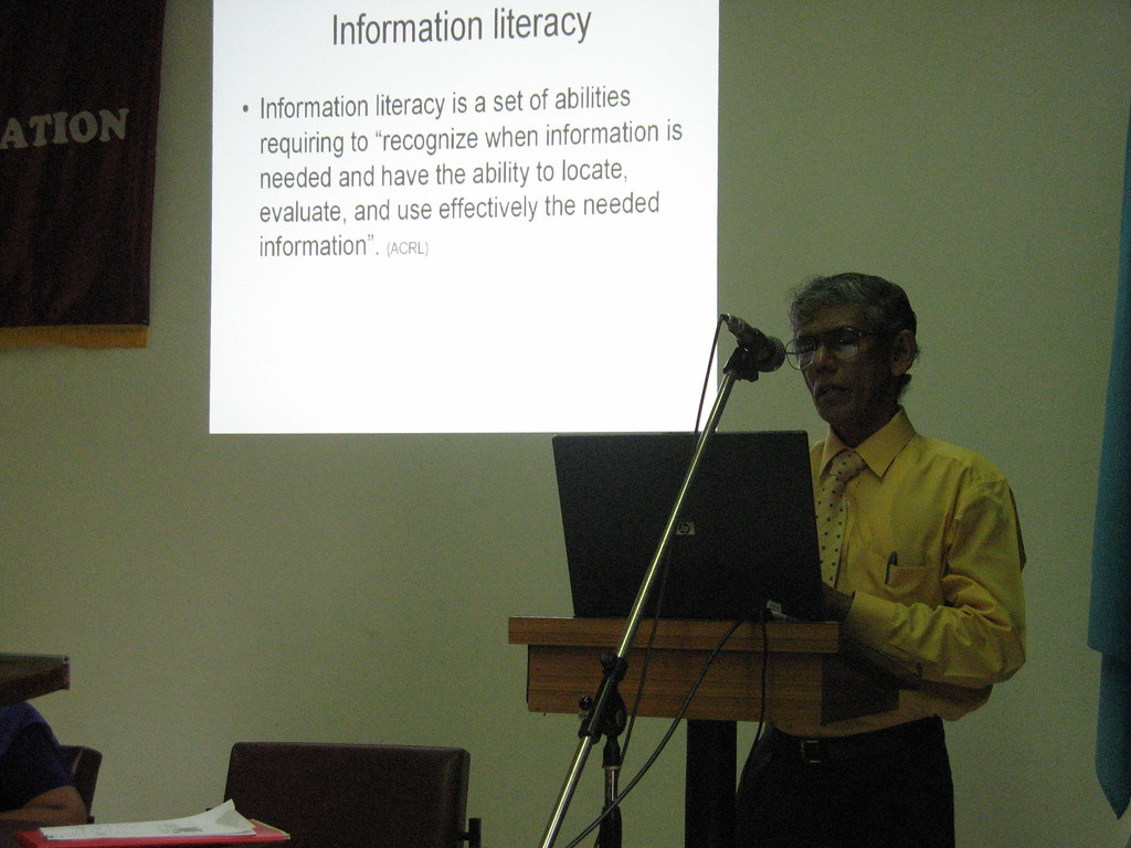 Information Literacy skills Development Initiatives at University of Kelaniya - L.A. Jayatissa