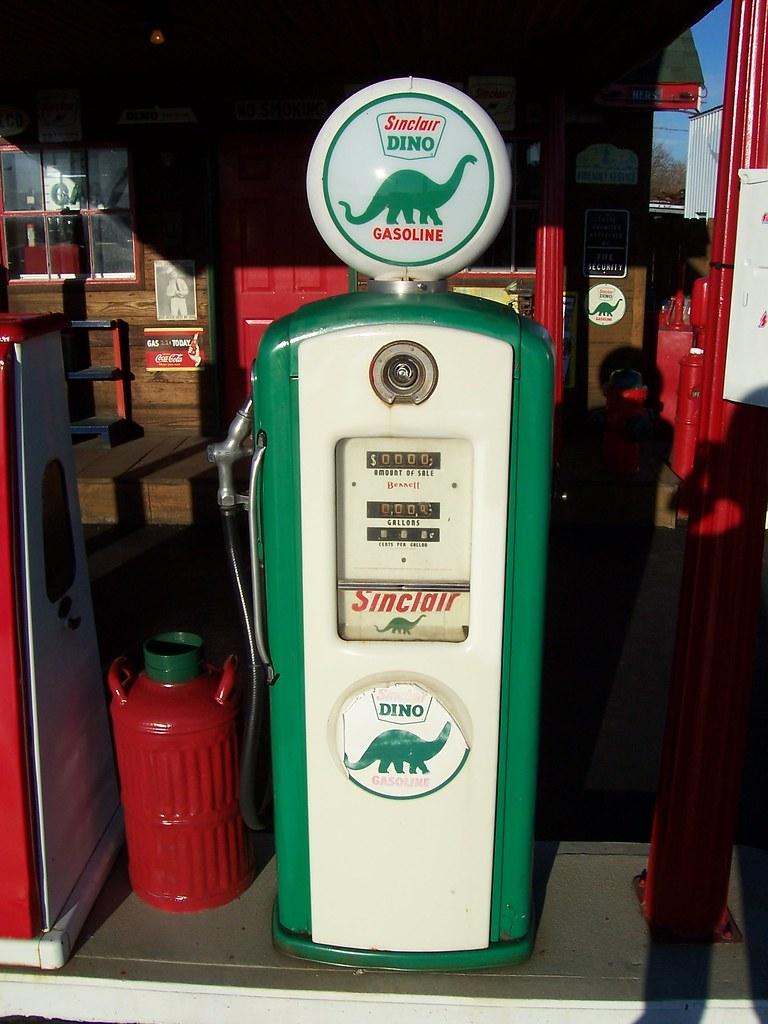 Pumps: Old Gas Pumps