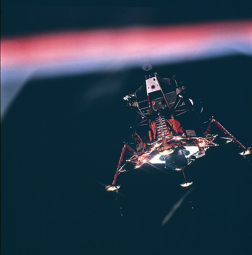 Lunar Module Eagle Upon Descent to the Moon (NASA, 6/23/09)
