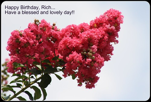 Happy Birthday to Rich!!!!