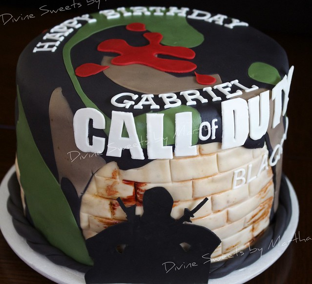 Black Ops Zombies Cakes Ideas