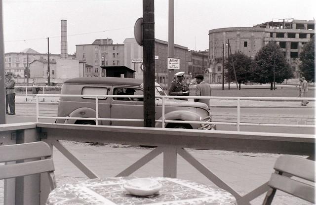 Postdamer Platz, West/East Berlin, c. 31 July 1960