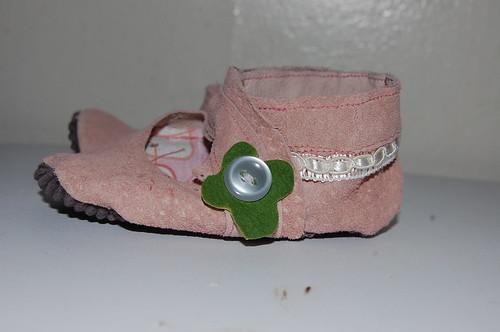 pink maryjanes babyshoes suede forbabyalexandra