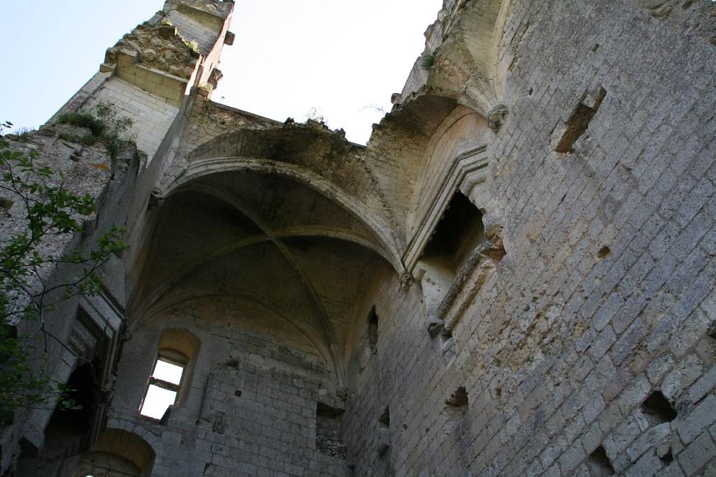 Interior Castillo de Lavardin