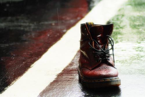 wet boot