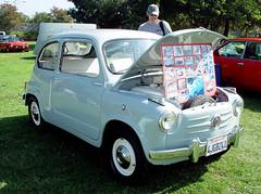 bmw 600(0.0), automobile(1.0), vehicle(1.0), fiat 600(1.0), subcompact car(1.0), city car(1.0), compact car(1.0), zastava 750(1.0), antique car(1.0), land vehicle(1.0),