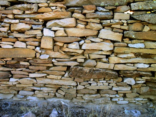 old newmexico rock stone wall amazing sandstone ruin dry mortar stacked rogersville roedel