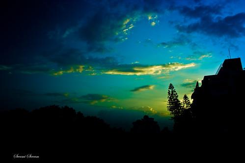 sunset india canon landscape rebel evening raw bangalore xti swamistreamcom