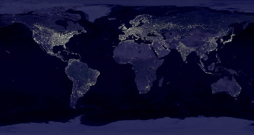 The Night Lights of Planet Earth