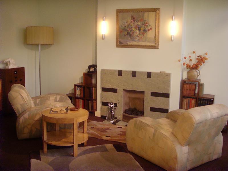 1930s living room london art deco interior flickr - Art deco decorating ideas ...