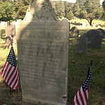 Headstone of Ebenezer Crocker (Marston Mills, MA)