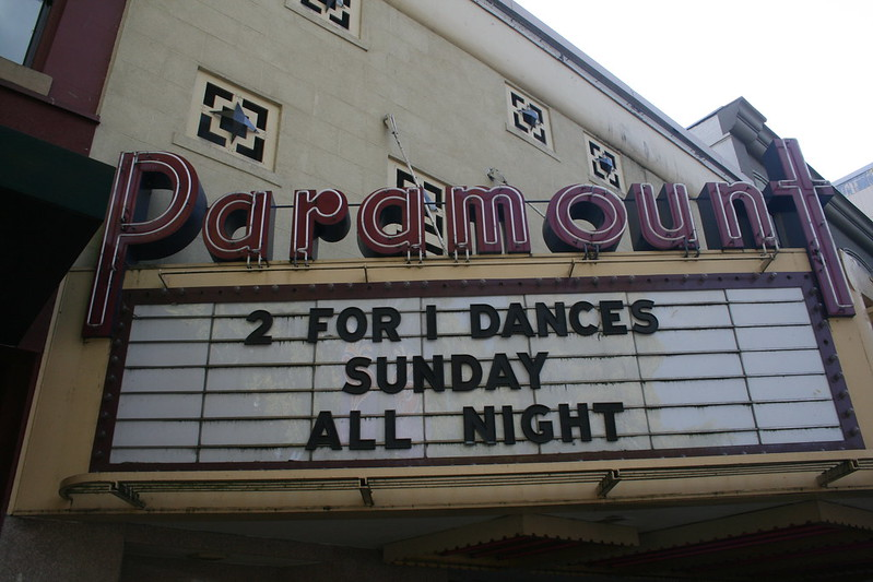 Paramount 2 for 1 Dances Sunday All Night