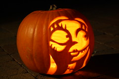 My Pumpkin Carving Of Sally From The Nightmare Before Chri Flickr