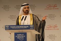 Sheikh Mohammed Bin Rashid Al Maktoum - World Economic Forum Summit on the Global Agenda 2008