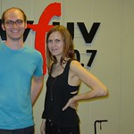 Juliana Hatfield with Ben Jones at WFUV